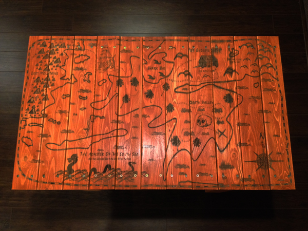 Pine-Wood-Laser-Engraved-Pirate-Treasure-Map-Table-5