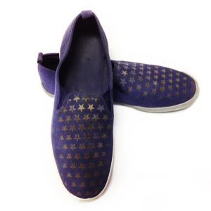 Engraved Canvas Shoes